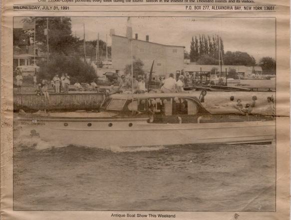 Boat Parade Roscommon 1991